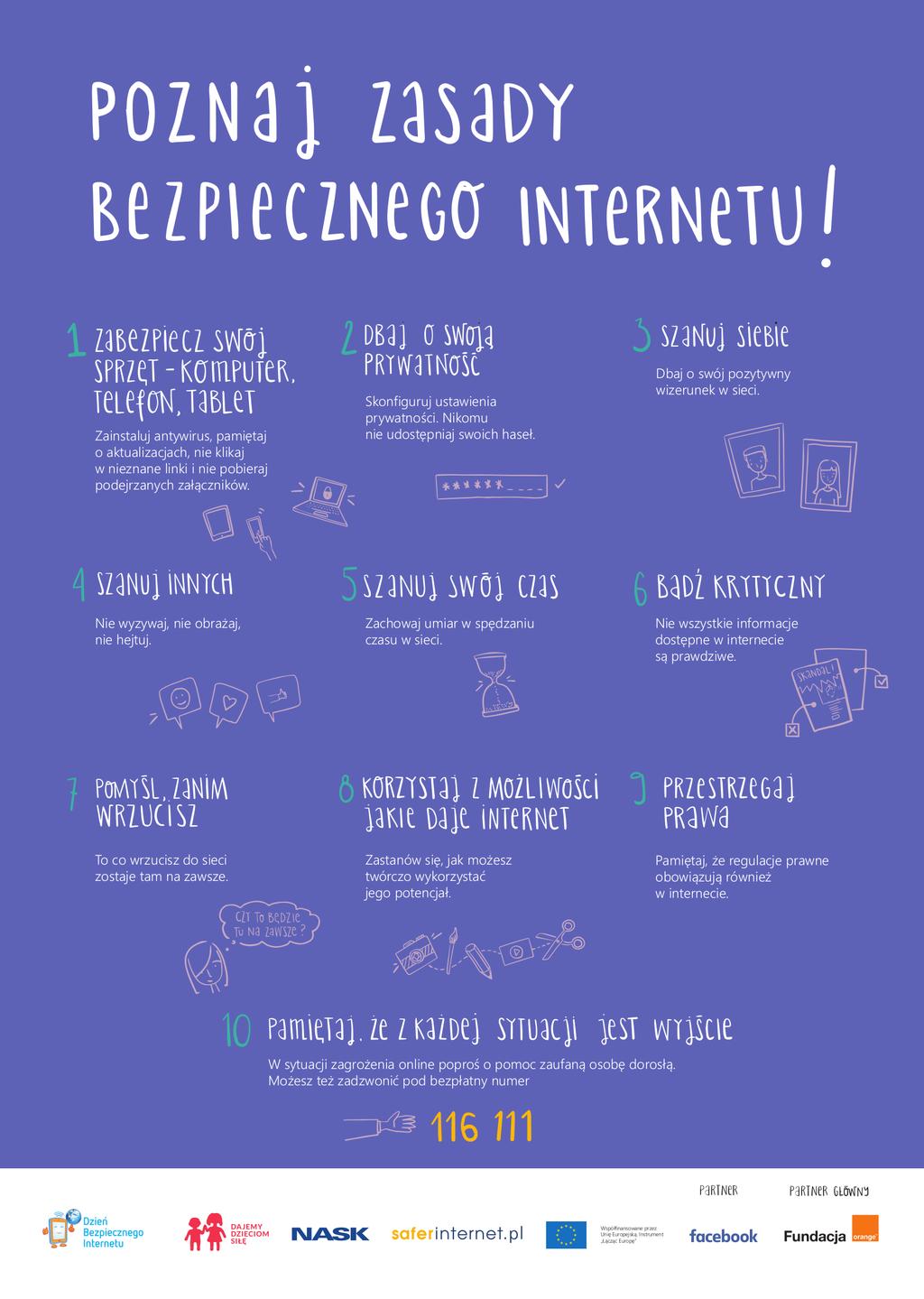 Zasady Bezpiecznego Internetu 2018