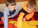 Dzień Pluszowego Misia - kl. I w Publicznej Bibliotece w Kopkach - 25.11.2014